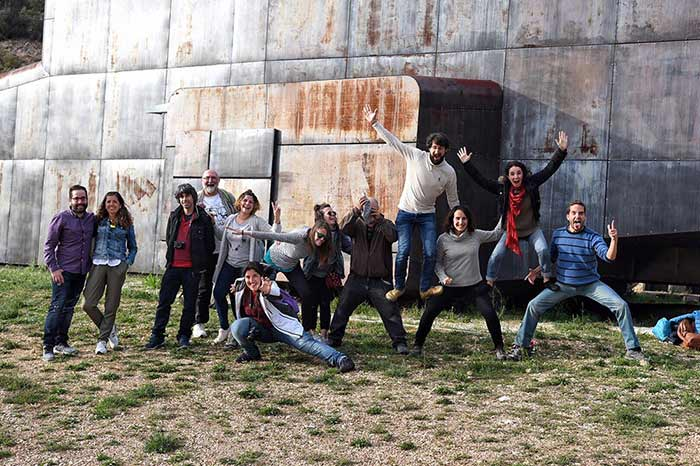 Grupo con el que fui al Triángulo de Arlanza, Burgos