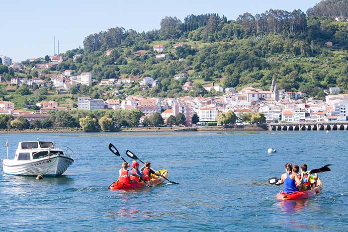 Tour en Kayak en cabanas, Galicia