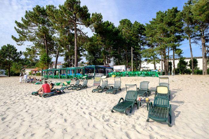Playa A Madalena qué ver en Galicia
