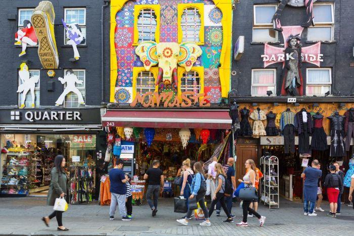 Calles en Camden Town