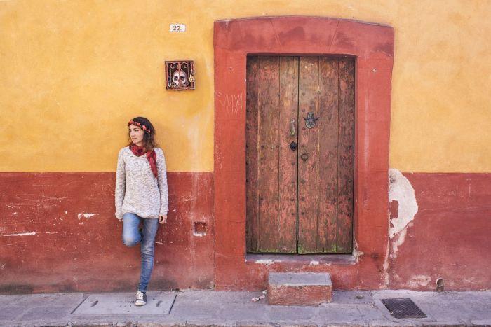 Calles de San Miguel de Allende, México