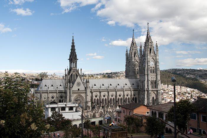 Basílica del Voto, Quito, Ecuador