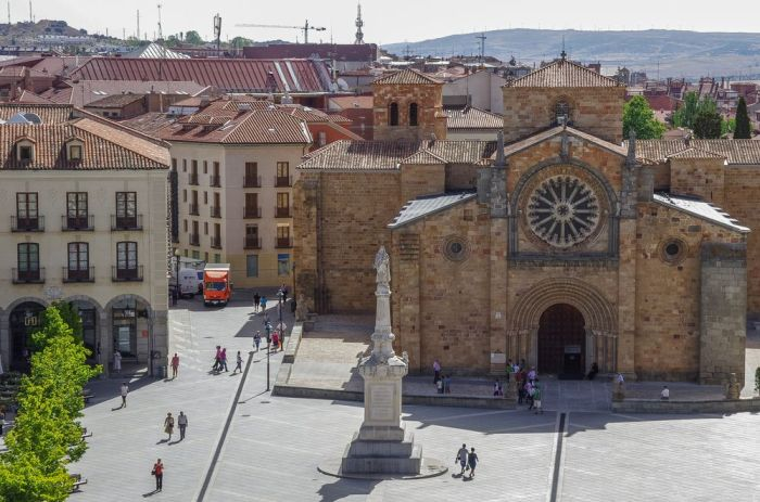 Plaza del Mercado grande - Qué ver en Ávila