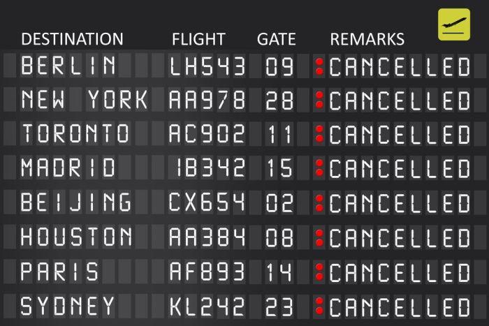 reclamar un vuelo retrasado o cancelado