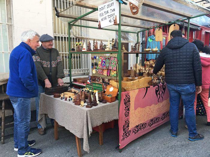 Mercadillos en Galway Irlanda