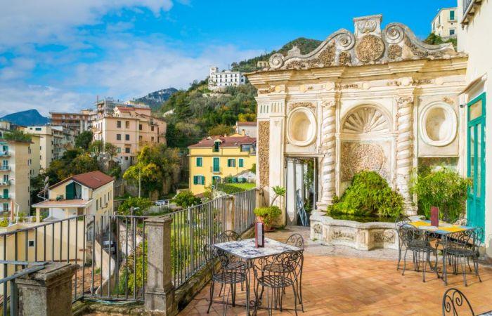Jardín de Minerva, un must que ver en Salerno y alrededores