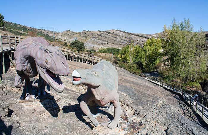 Enciso, sendero de dinosaurios