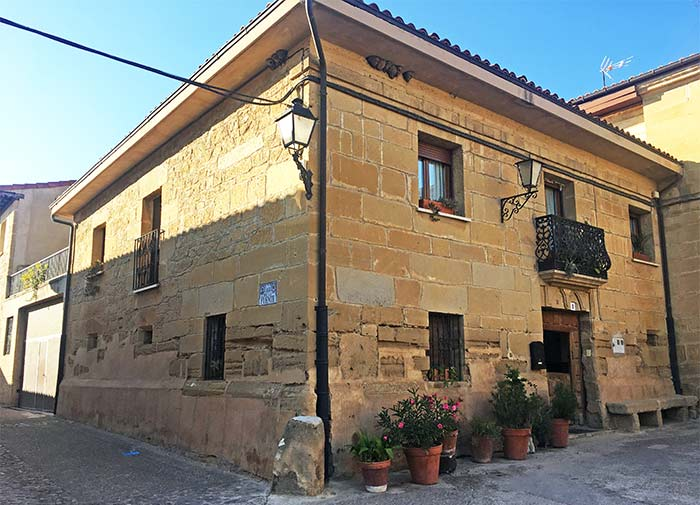 Calles de Sajazarra, La Rioja