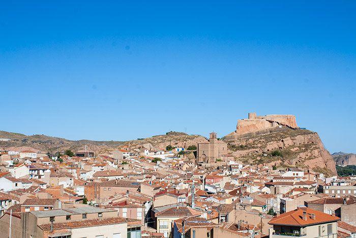 Vistas del castillo de Arnedo, La Rioja