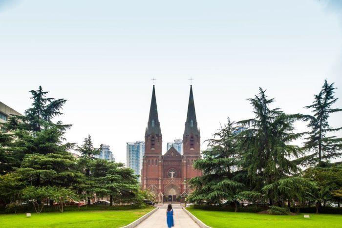 Catedral de San Ignacio en Shanghái China