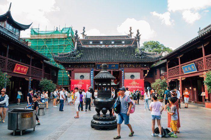 Templo de la Ciudad en Shanghái.