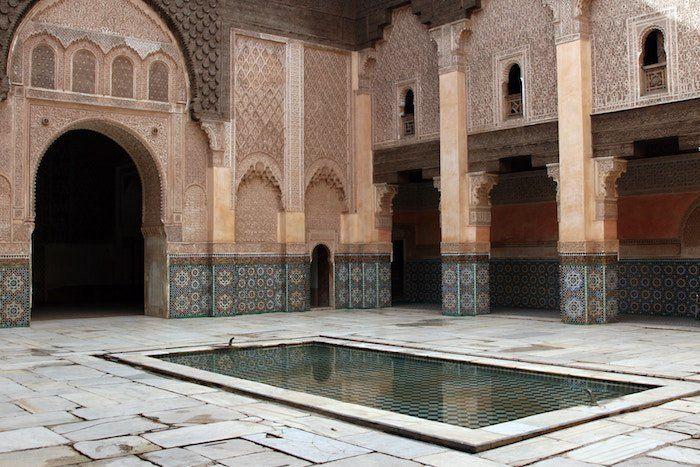 del aeropuerto a la medina de Marrakech