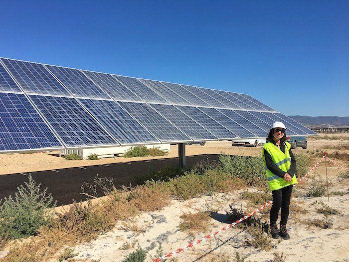 central fotovoltaica en Totana