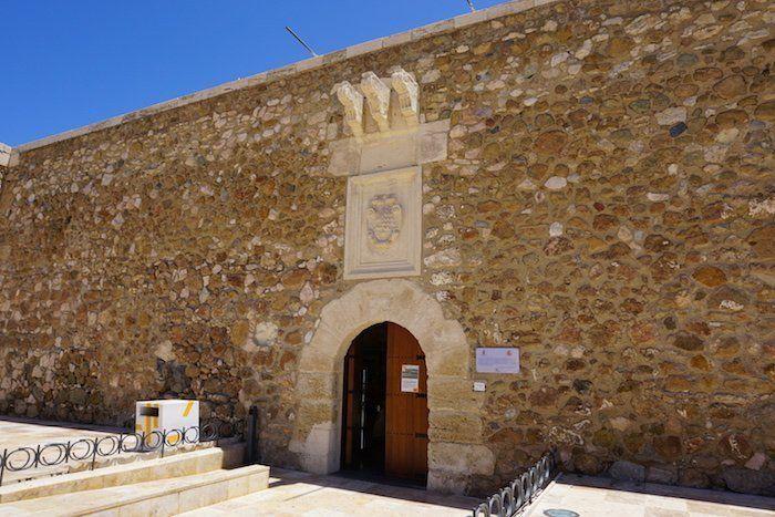 castillo San Andrés en Carboneras