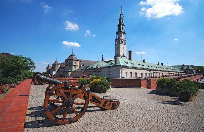 Monasterio Jasna Gora en Czestochowa