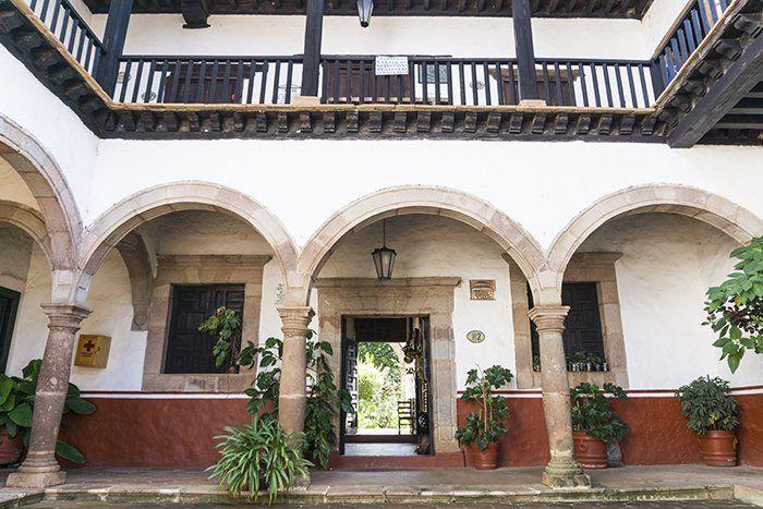 Casa de los once patios en Pátzcuaro