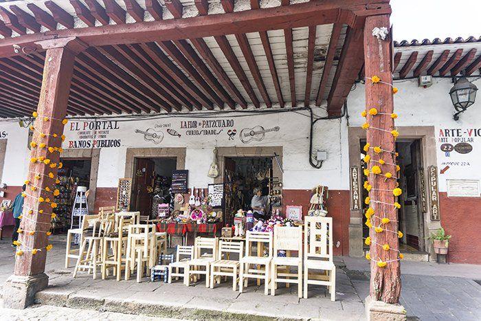 Negocios artesanales e Pátzcuaro