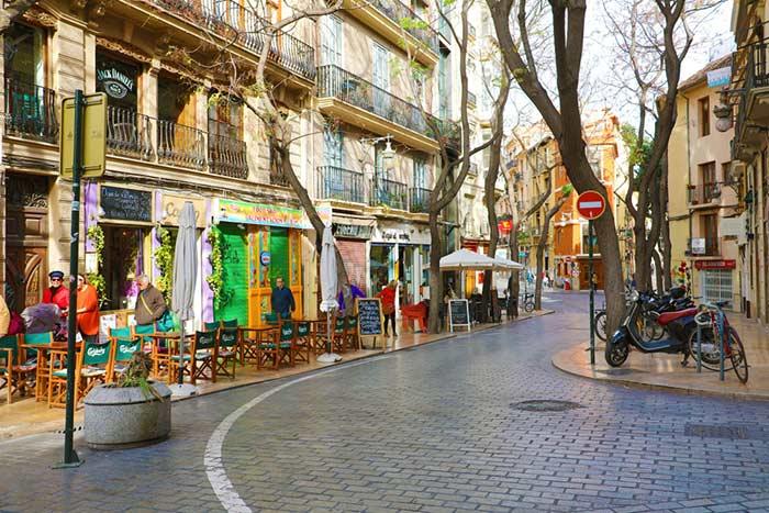 Barrio Carmen en Valencia