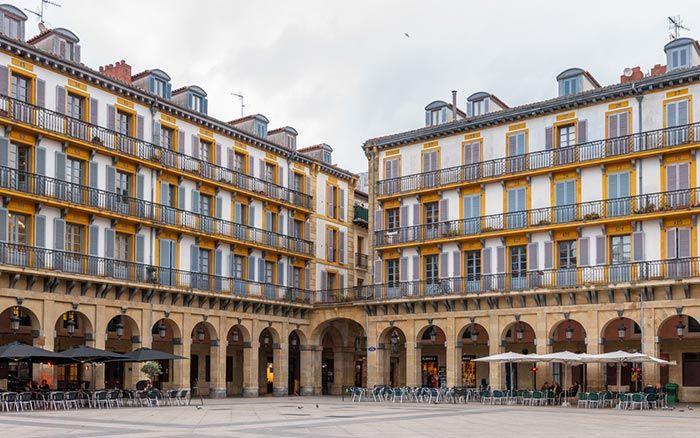 qué ver en San Sebastián - La Plaza de la Constitución
