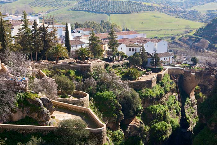 Rincones en la provincia de Málaga