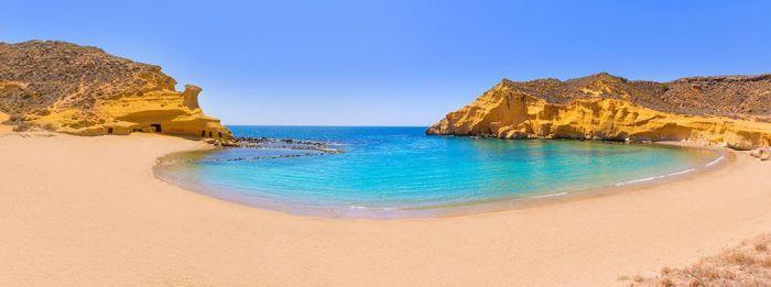 Playa de Cocedores - Las playas más bonitas en MURCIA – Costa Cálida