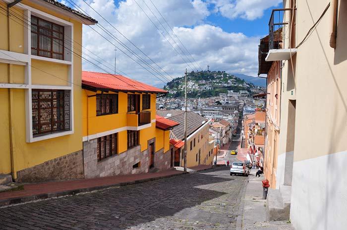 del aeropuerto de Quito al centro