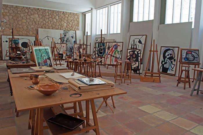 Visitar el estudio de Miró en Palma de Mallorca