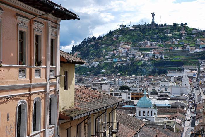 del aearopuerto de Quito al centro de la ciudad