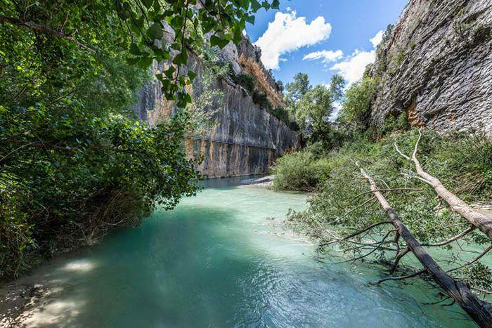 Parque Natural de la Sierra y Cañones de Guara (Aragón) ideal para viajar en verano coronavirus