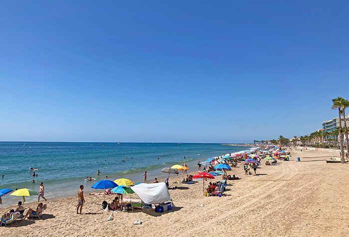 Playa de Villajoyosa, Comunidad Valenciana