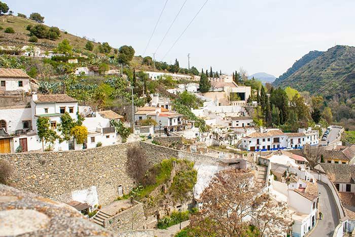 Vistas del Sacromonte, Granada