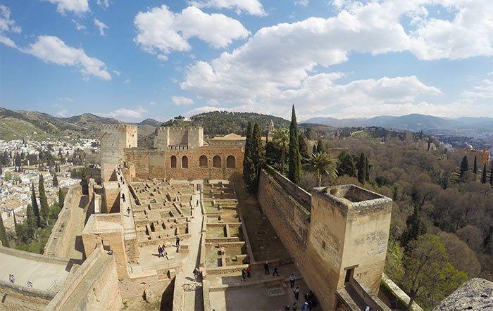 Alcazaba, La Alhambra, Granada