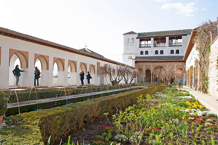 Generalife, La Alhambra, Granda, Andalucía