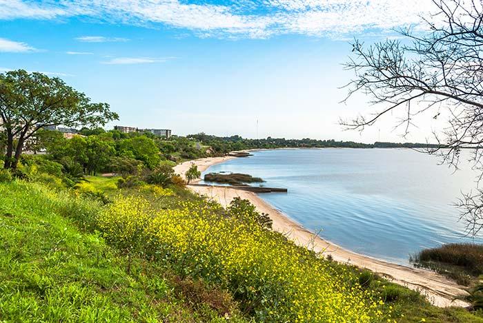Playas de Colonia del Sacramento, Uruguay