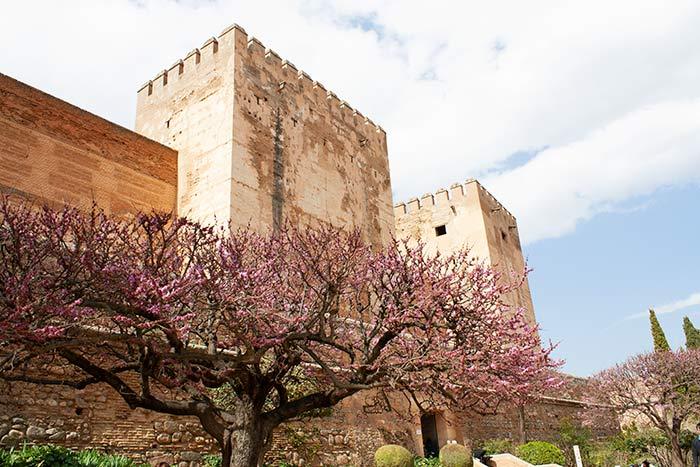 Muralla y torres de La Alhambra