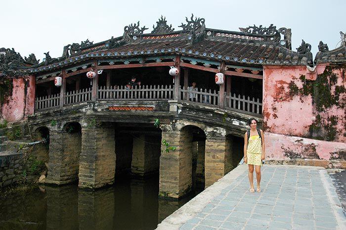 En la encantadora Hoi An, Vietnam