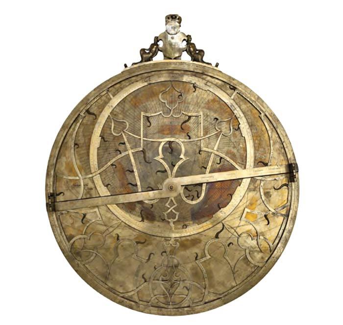 Astroloabio de Felipe II en el MAN