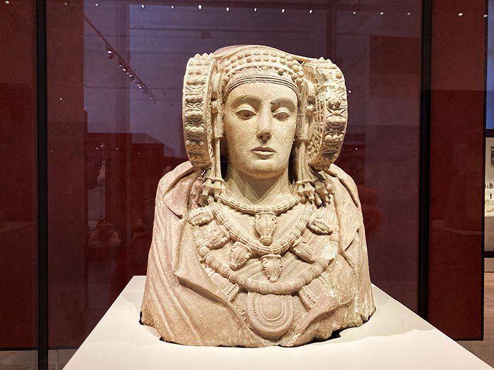 La Dama de Elche, Museo Arqueológico Nacional en Madrid