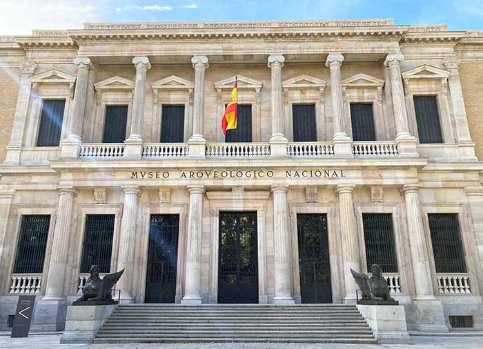 Edificio del Museo Arqueológico Nacional en Madrid