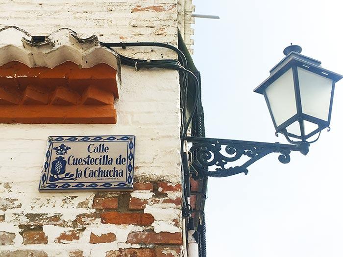 Calle Cuestecilla de Cachucha, España