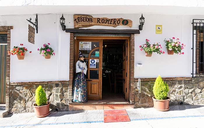 Taberna Romero, para comer en Soportújar