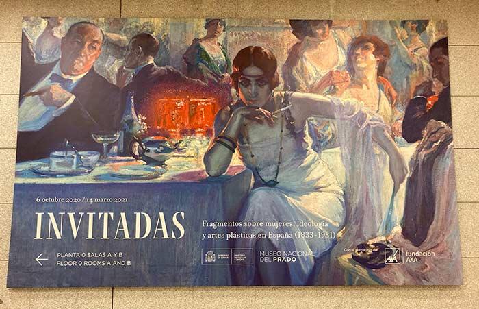 Invitadas, exposición temporal en el Museo del Prado
