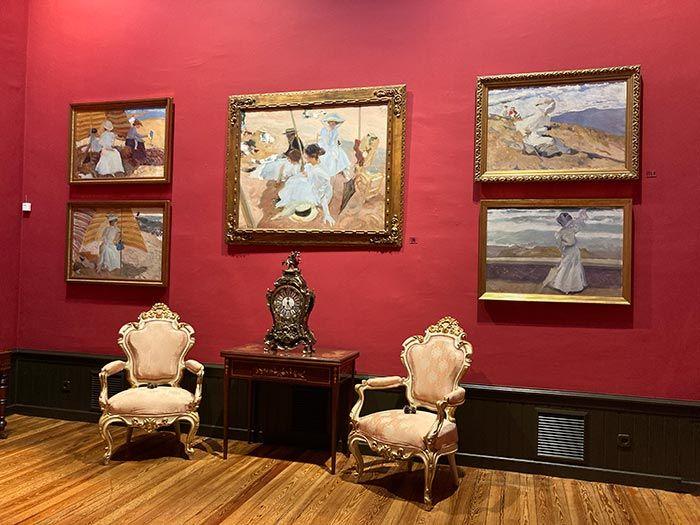 Sala II de la casa-museo de Sorolla