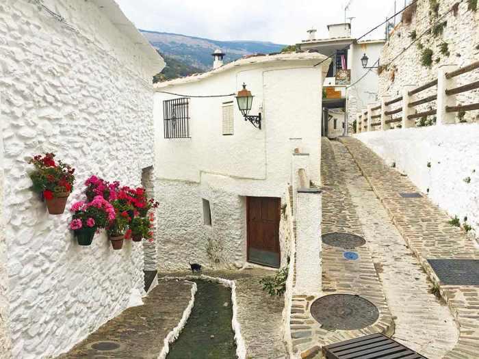 Calles bonitas de Pampaneira, Alpujarra Granadina