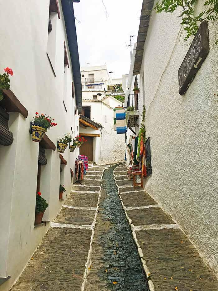 Calle Verónica en Pampaneira, Alpujarra de Granada