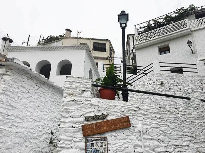 Arquitectura típica de la alpujarra granadina