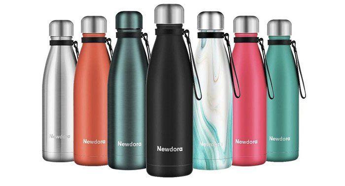 Regalos para viajeros: botellas reutilizables