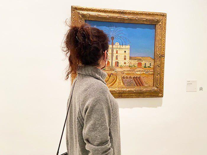 """""""La casa de la palmera"""", Joan Miró"""