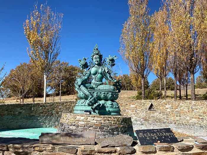 Estatua de la Tara Verde