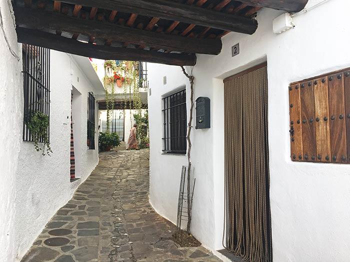 Calles y tinaos de Capileira